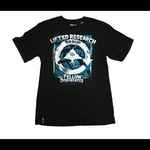 LRG Scratch & Stained Cycle Print Tee